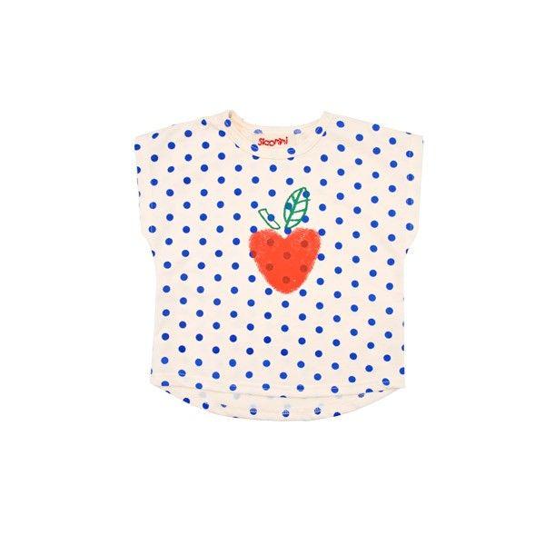 Siaomimi  Dots Apple t-shirt