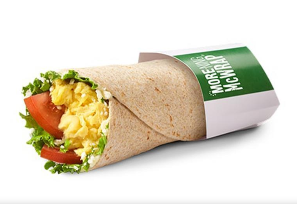 Mcdonald S Canada Feta Tomato More Ning Wrap Canadians Can Also Start Their Day With A Tortilla Wrapped Breakfast Wraps Breakfast Around The World Breakfast