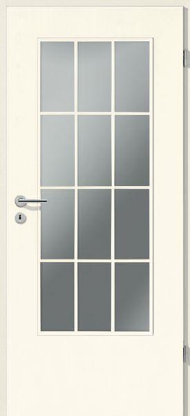 porte int rieure contemporaine croisillons la din. Black Bedroom Furniture Sets. Home Design Ideas