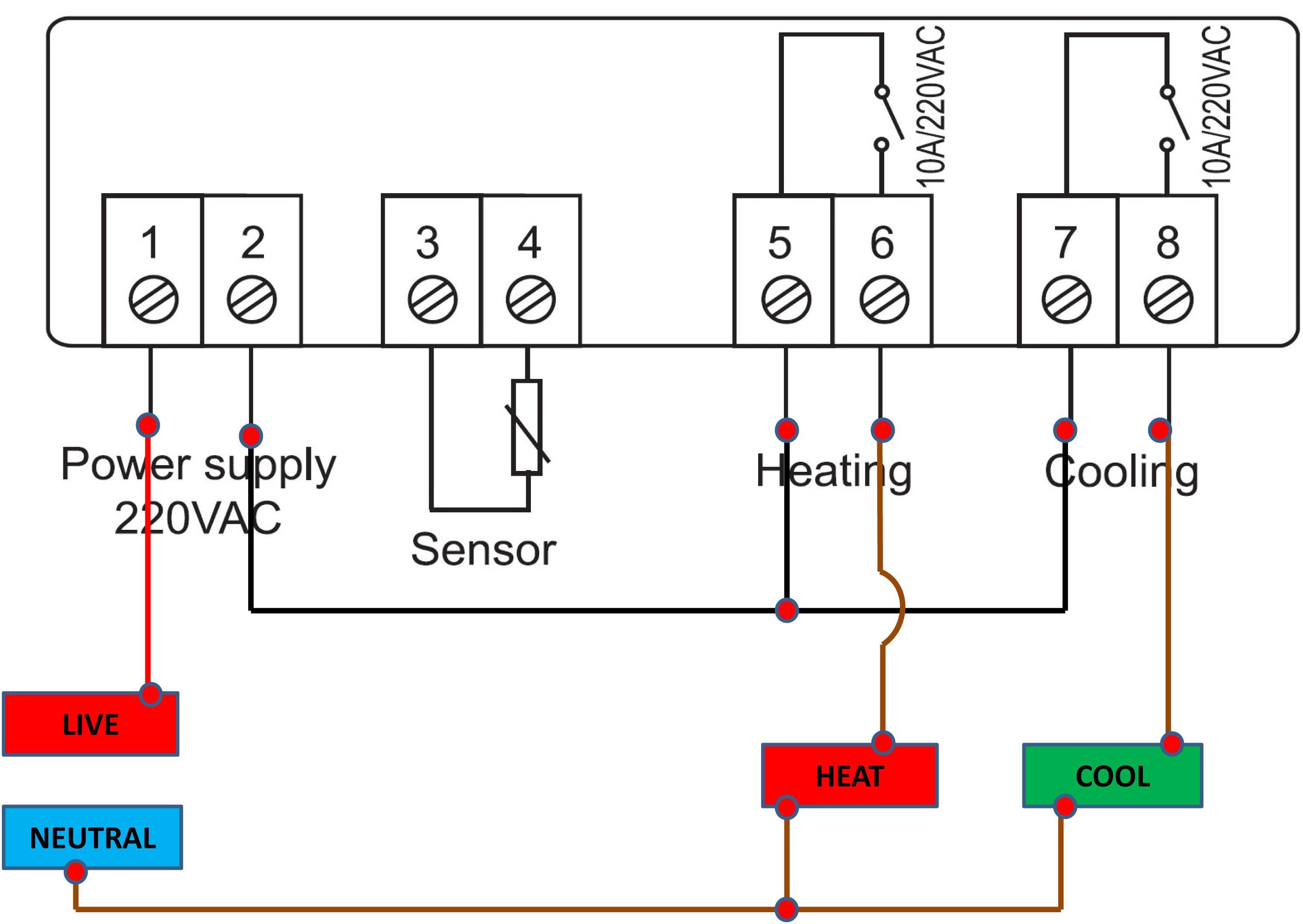 Schematic Swamp Cooler Switch Wiring Diagram