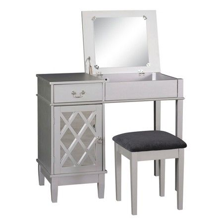 linon home decor lorraine vanity set black linon home decor vanity set with butterfly bench black 13670