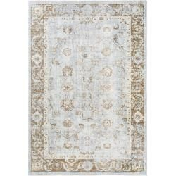 Photo of benuta viscose carpet Yuma Taupe 200×300 cm – vintage carpet in the used look benuta
