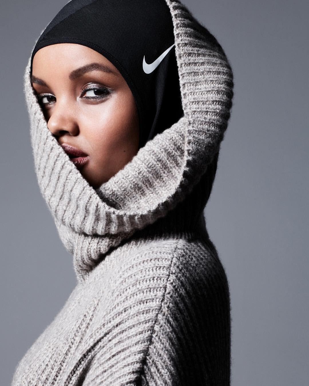 Halima Aden Nike, Hijabi Supermodel, Hijab-Wearing Model, Muslim Vogue Model, Muslim Model