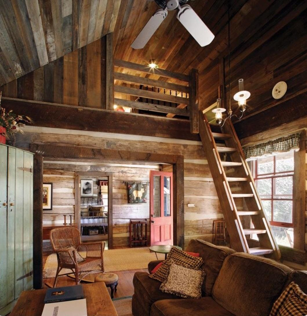 A Very Cozy Cabin. : CozyPlaces (With Images)