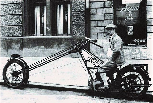 1923 Norton Chopper Well Let Me Say That Correctly A In Was Made Into