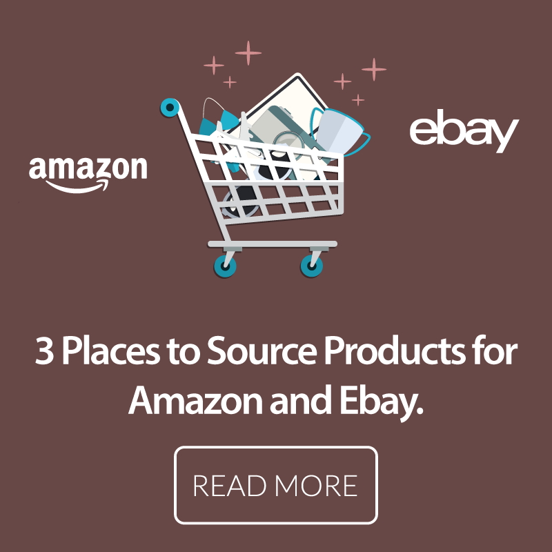 Learn 3 Places To Source Products For Selling On Amazon And Ebay