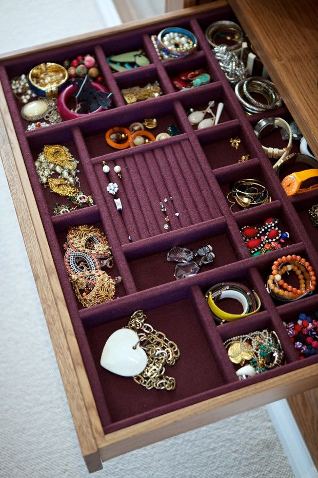 Storage Tips For Small Rooms Jewelry Drawer Storage Room Organization Jewelry Organizer Box
