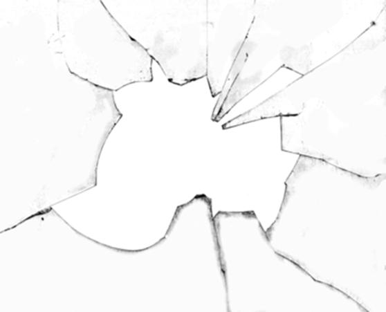 Make A Broken Glass Effect In Photoshop Broken Mirror Drawing Mirror Drawings Hand Art Drawing