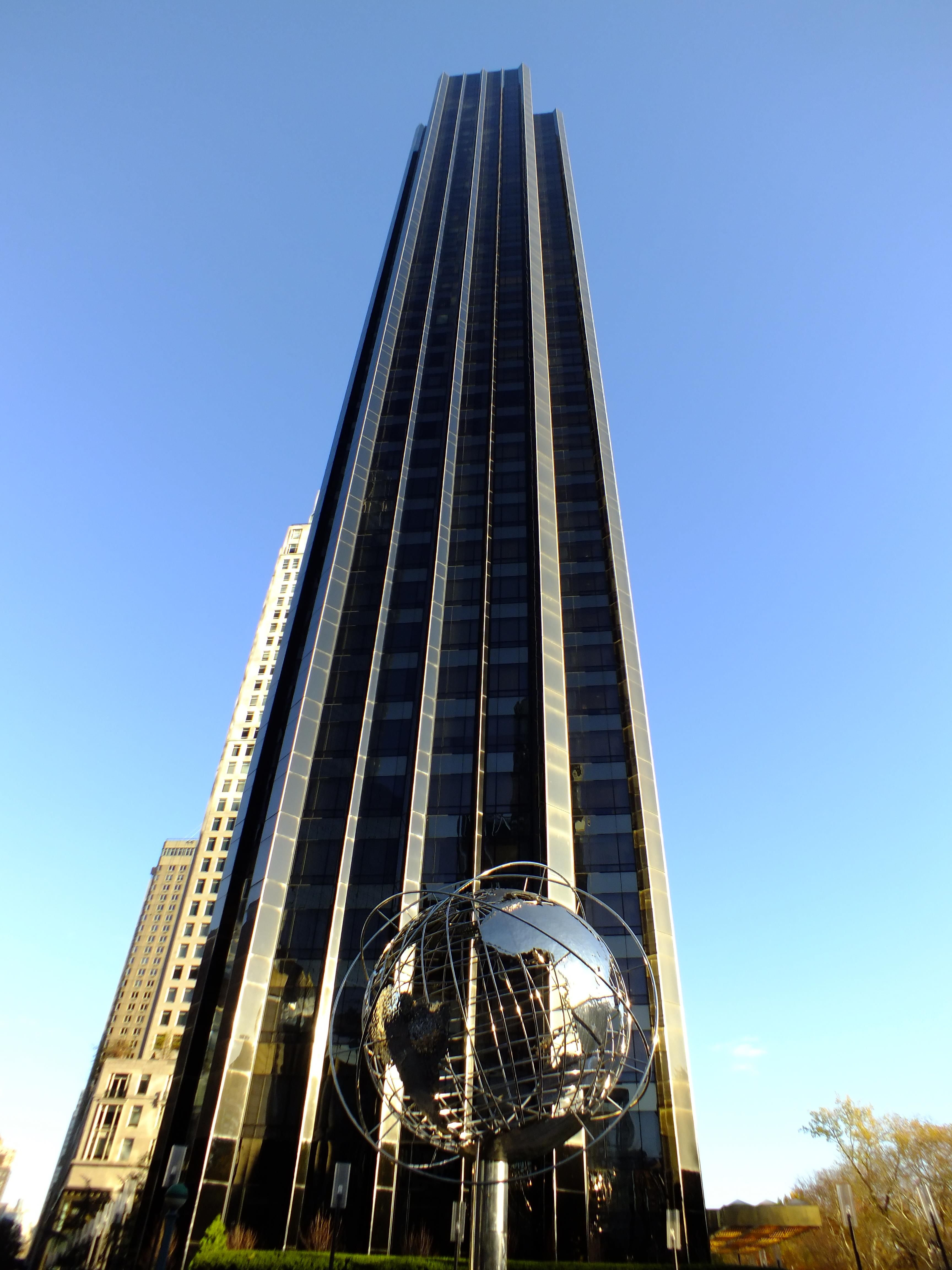 Trump International Hotel and Tower at Columbus Circle in New York City.   my favorite places I've stayed   Trump international hotel. New york ...
