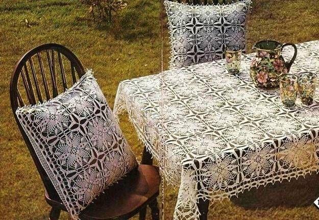 Manteles de ganchillo: Fotos de patrones y diseños | Ella Hoy ...