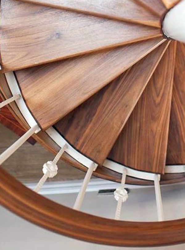 Best Bespoke Walnut Spiral Staircase Designed By Missi Gray 400 x 300