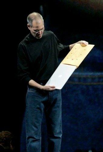 Steven Jobs Produtos Original MacBook Air Jan 2008 - Oct 2010