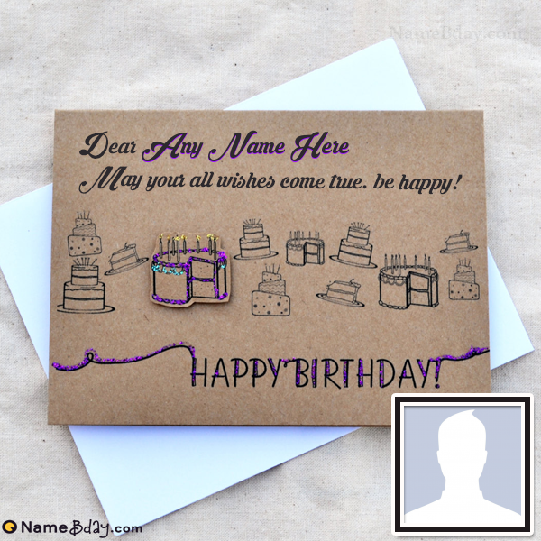 Birthday Card Messages For Boyfriend With Name And Photo Name