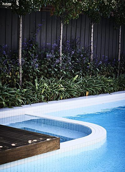 OFTB Melbourne Landscaping, Pool Design U0026 Construction Project   Modern  Ceramic Tiled Swimming Pool In