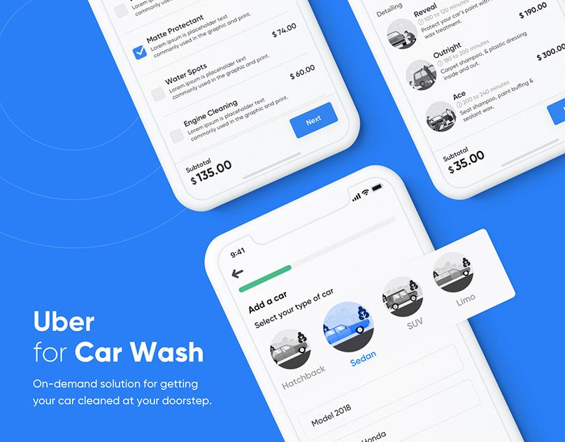 Uber Works OnDemand Staffing App on Behance 디자인