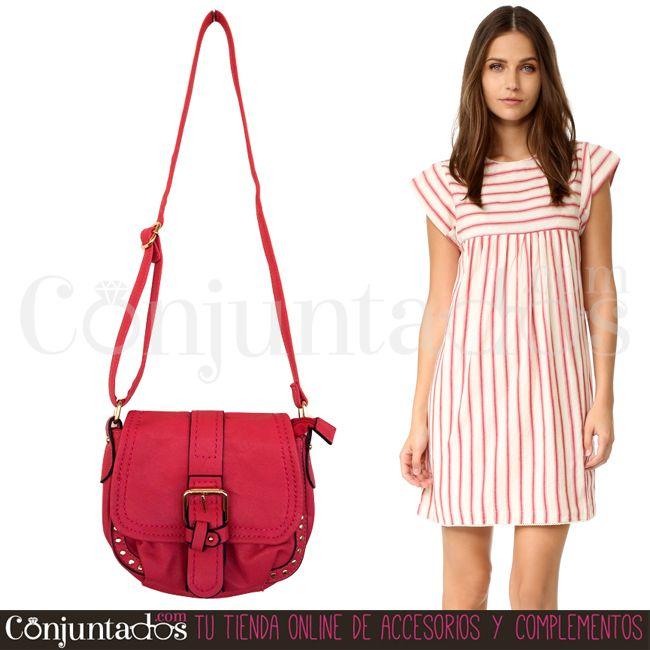 Con el #bolso #bandolera en un vistoso #fucsia conseguirás alegrar cualquier #outfit ★ 14,95 € en https://www.conjuntados.com/es/bolso-bandolera-fucsia.html ★ #novedades #handbag #purse #crossbodybag #conjuntados #conjuntada #accesorios #lowcost #complementos #moda #fashion #fashionadicct #picoftheday #estilo #style #GustosParaTodas #ParaTodosLosGustos