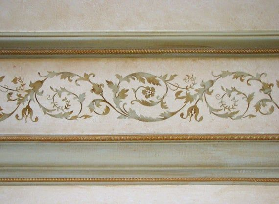 Photo of Stencil Versailles Border – Elegant French Decor stencil