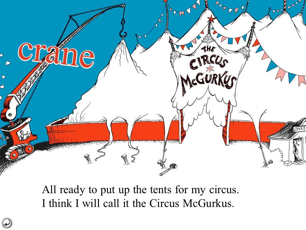 Dr Seuss Circus Dr Seuss S If I Ran The Circus