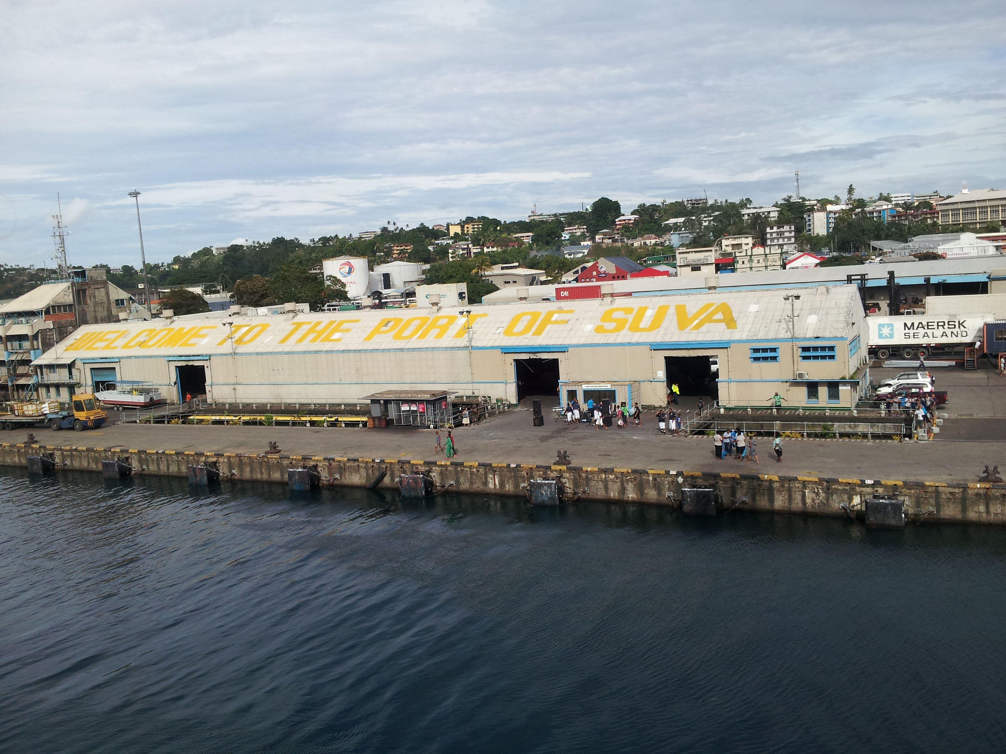 Welcome To Port Of Suva Suva Fiji Travel To Fiji Suva Fiji