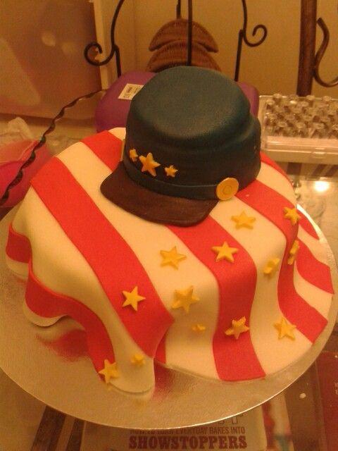 Civil War Cake War Cake Cake Civil War Decorations