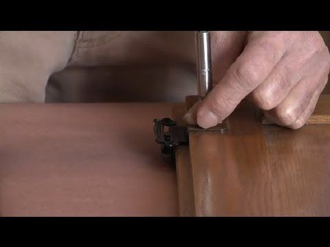 How to Change the Hinge Style on Kitchen Cabinets : From ...