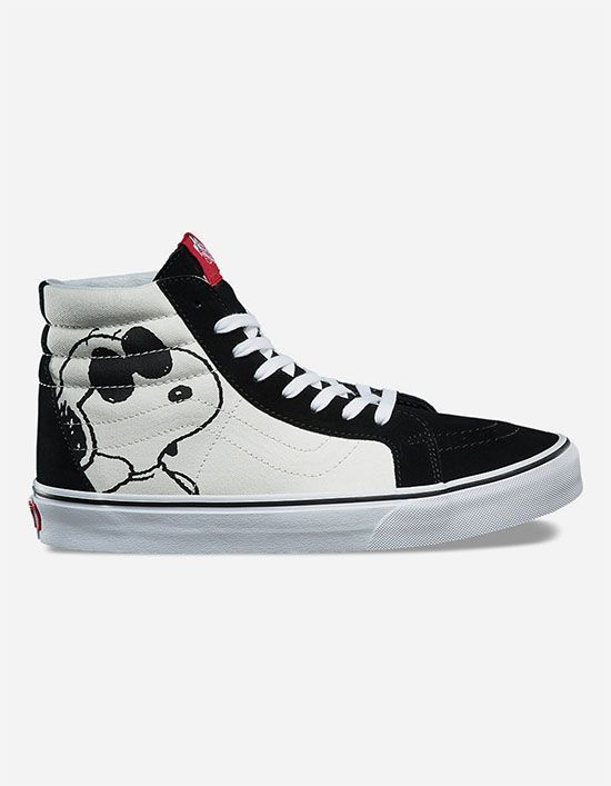 c739fc07 VANS x PEANUTS Joe Cool Sk8-Hi Reissue Shoes | want list | Shoes ...