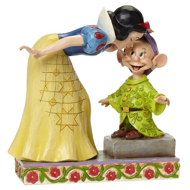 Jim Shore Sweetest Farewell—Snow White Kissing Dopey ...