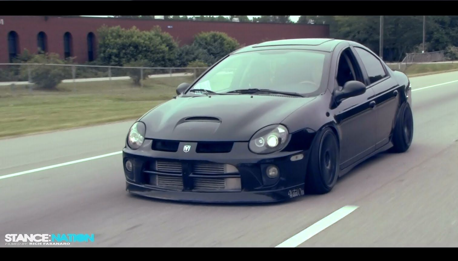 Pin By Jeremy Wright On Good Looking Rides Low Riding Srt4 Neon Dodge Srt 4