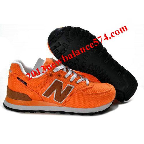 New Balance ML574BPC backpack retro Orange Brown women shoes,Half Off New Balance Shoes 2013 Cheap