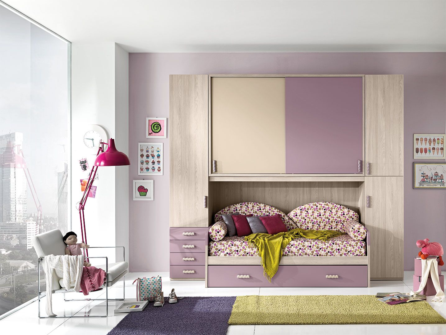 Unoxtutti Has Many Ideas Solutions Save Space And A Removable  # Giessegi Muebles Infantil