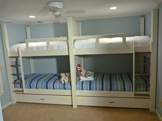 Handmade Quad Bunk Bed By Bsr Woodworks Custommade