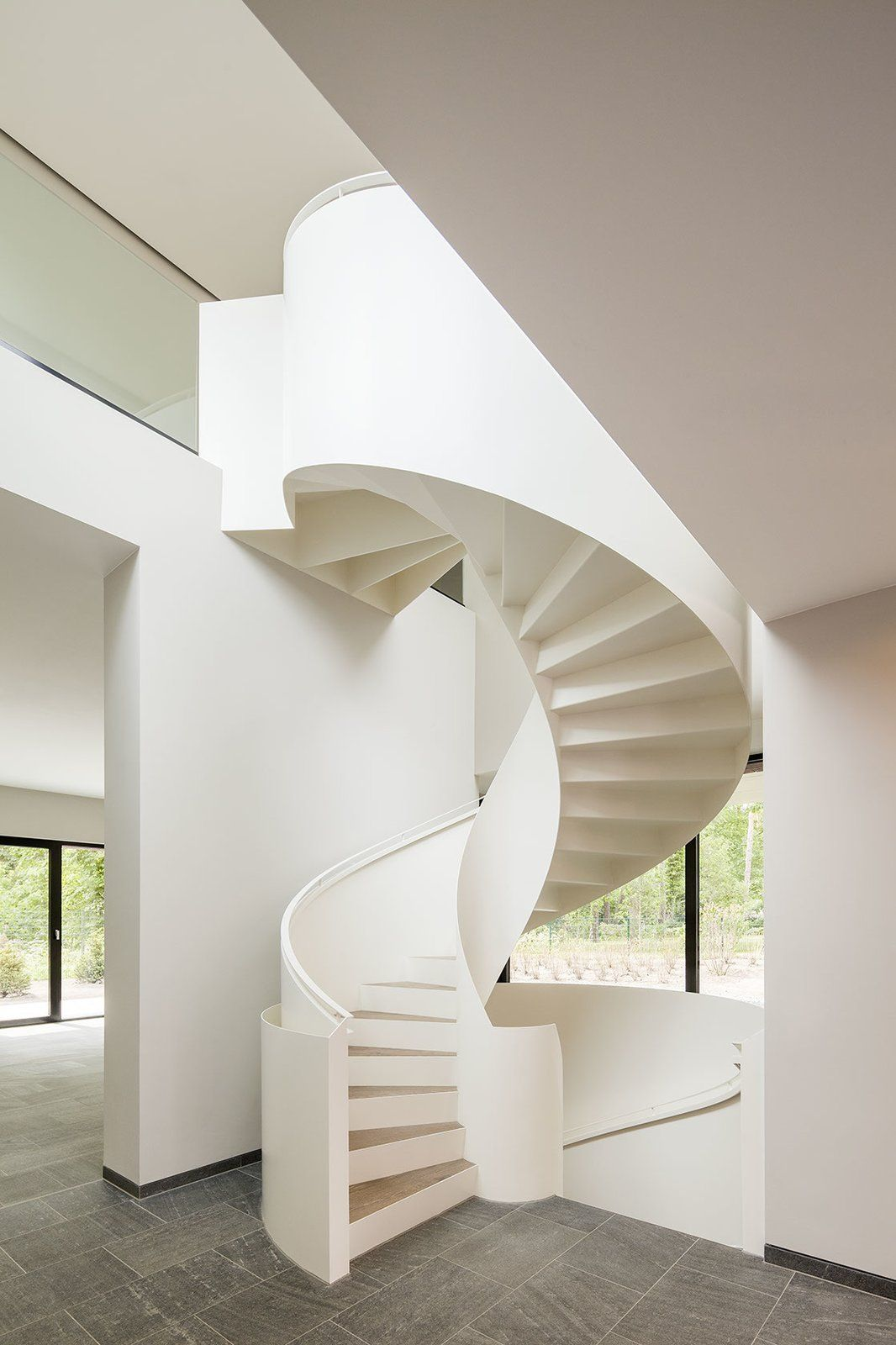10 Dazzling Modern Staircases Modern Staircase   Spiral Staircase Outdoor Near Me