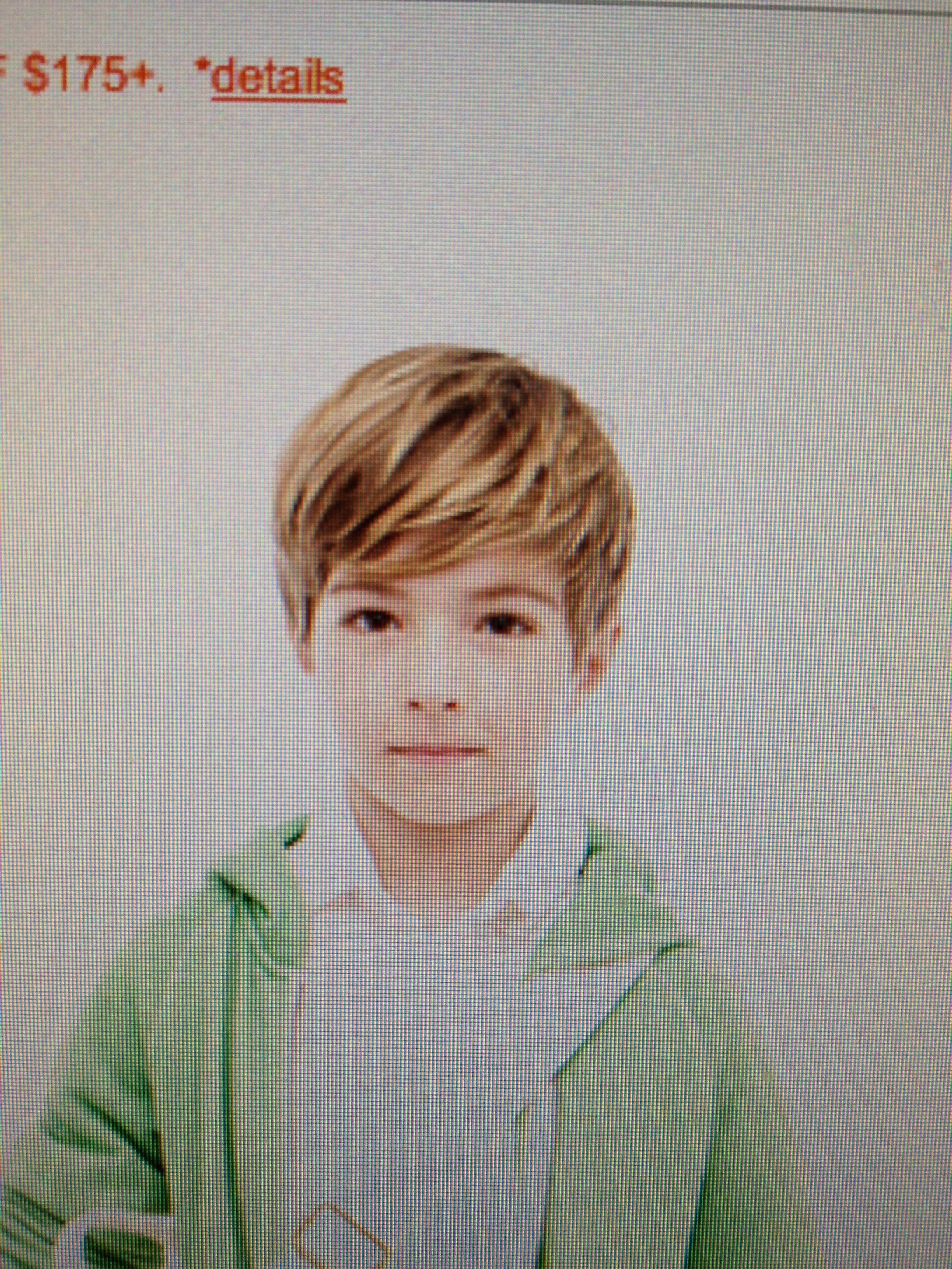 am I crazy that I love this kid s haircut