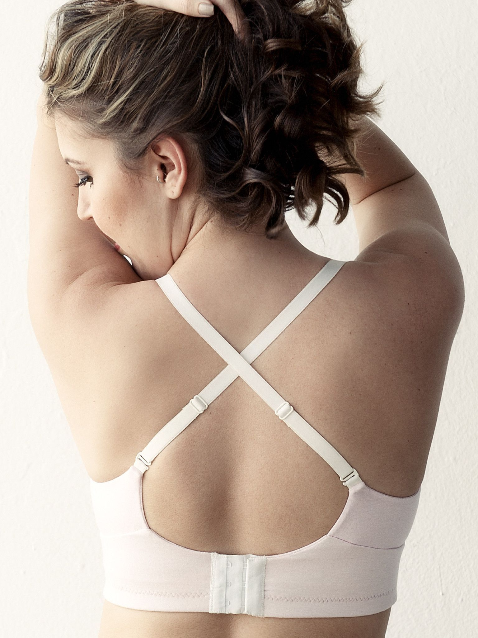 abb8ccc11a MakeMerry® Pocketed Plunge Wirefree Bra
