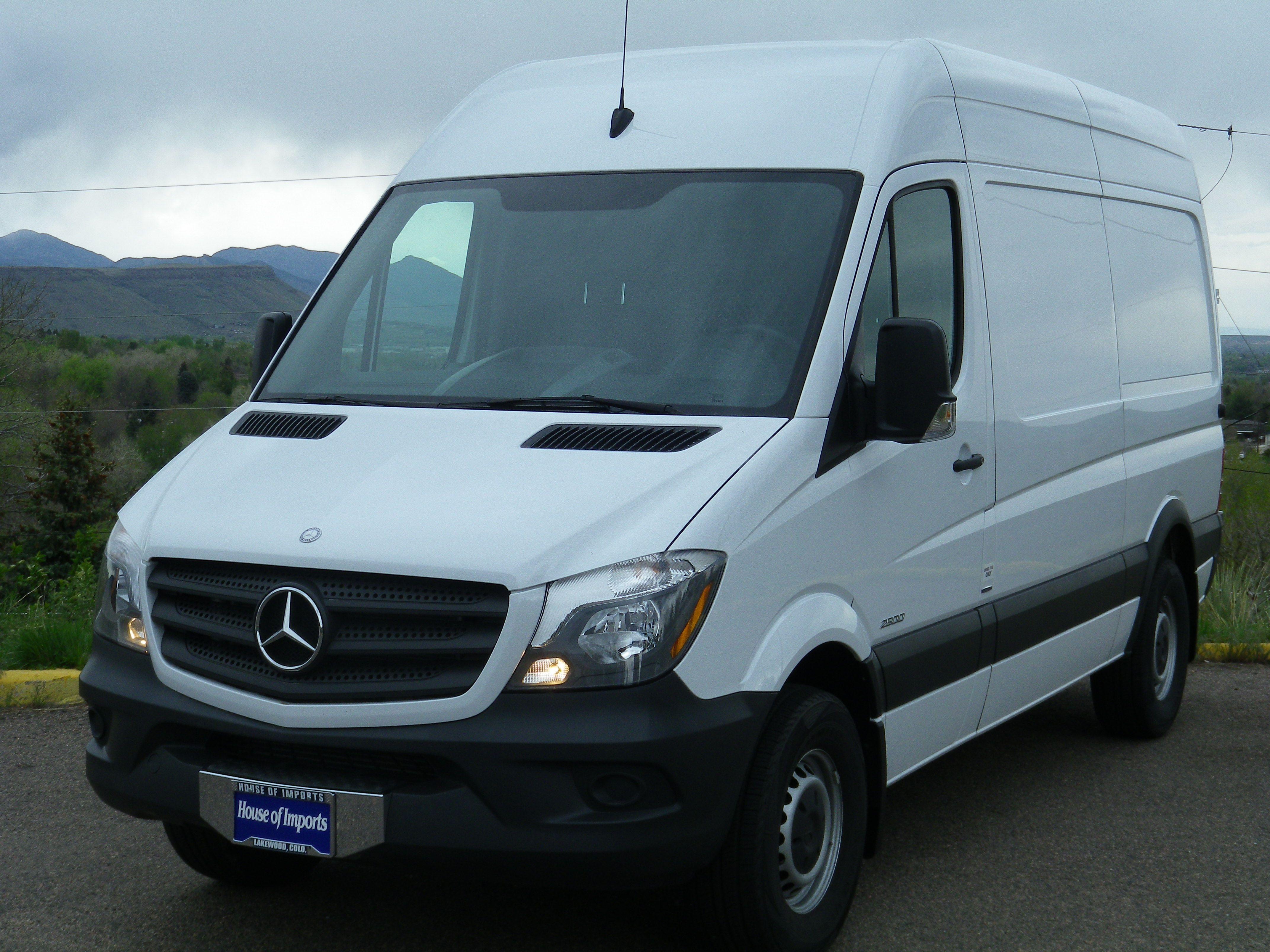 2014 Mercedes Benz Sprinter 2500 Cargo Van Odometer: 2,617