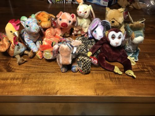Ty Beanie Babies Full Zodiac Collection (Set of 12) Mint with Tags ... ca012572ab4f