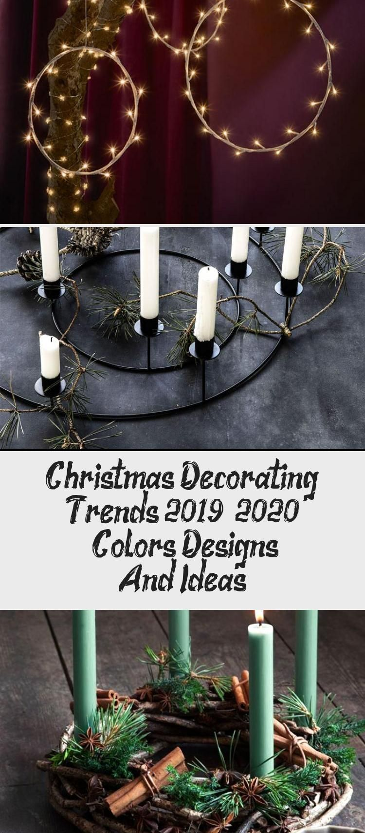 Christmas Decorating Trends 2019 / 2020 Colors, Designs
