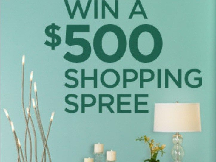 Lamps Plus Sweepstakes Enter To Win 500 Shopping Spree
