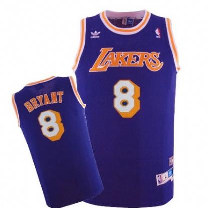 2f9f2cd1a Mens Los Angeles Lakers Kobe Bryant 1996-1997 Adidas Purple Hardwood  Classics Swingman Jersey