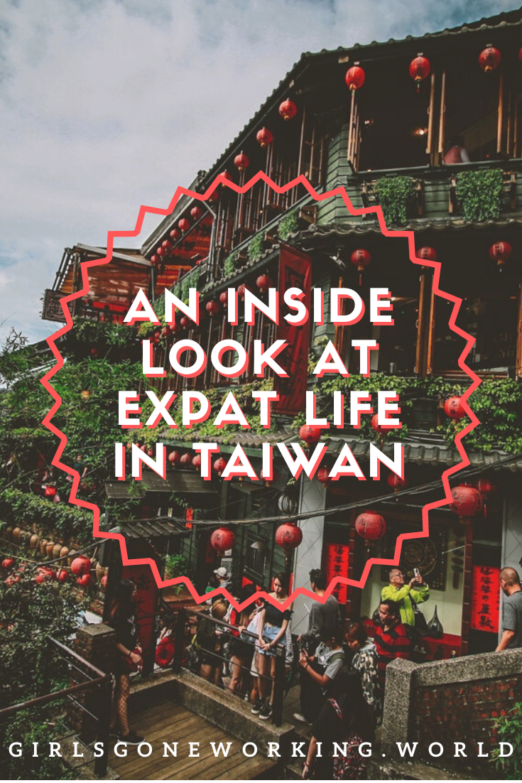Find out the best things to do in Taipei, Taiwan as an expat. If you're considering moving overseas to Taiwan, read this guide first! This guide will serve as Taipei 101 to learn where to live in the city, how to get a visa and how to move around Taipei. Get ready to move abroad! #girlsgoneworking #taipei #taiwan #asia