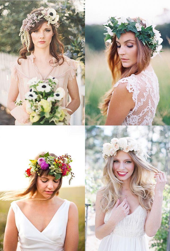 Slubne Wianki Na Glowe 44 Pomysly Sweet Wedding Wedding Inspiration Wedding Hairstyles Wedding Hall Decorations