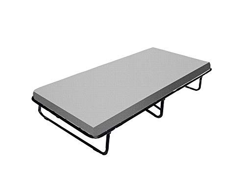 Spring Coil Fully 31 Inch Assembled Portable Folding Cot Bed With With Twin White Comfort Mattress Folding Guest Bed Cot Bedding