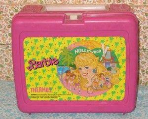Etsy :: marjiew :: Vintage Barbie Pink Lunchbox