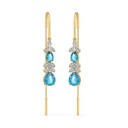 The Dewdrop Blossom Earrings