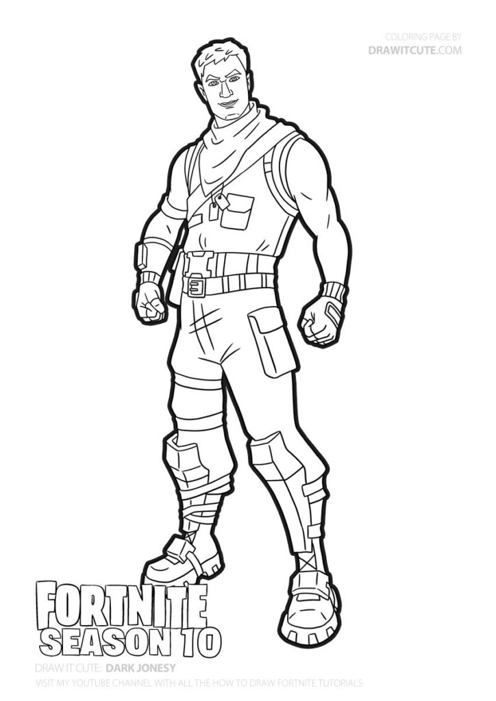 Dark Jonesy Fortnite Coloring Page Color For Fun Fortnitecreative Fortnitefun Fanart Fortnitefr Col Coloring Pages Marvel Coloring Cute Coloring Pages
