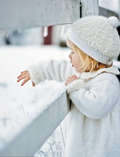The wonder of snow
