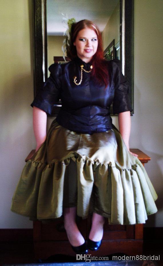 wholesale wedding dress - buy 2014 vintage plus size steampunk