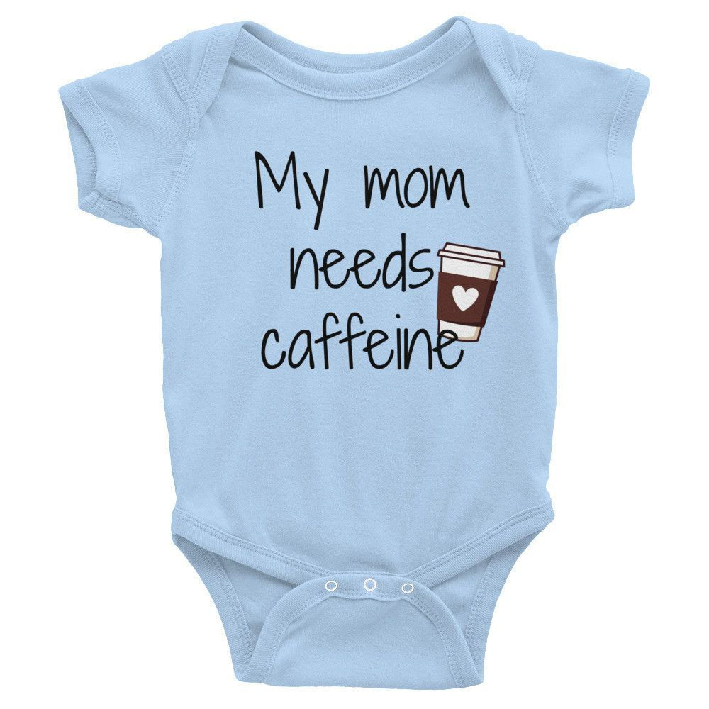 My Mom Needs Caffeine Bodysuit