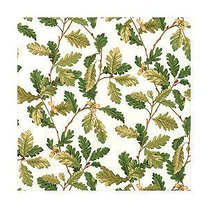 Thibaut Wallpaper and Fabric Repertoire Oak Leaves