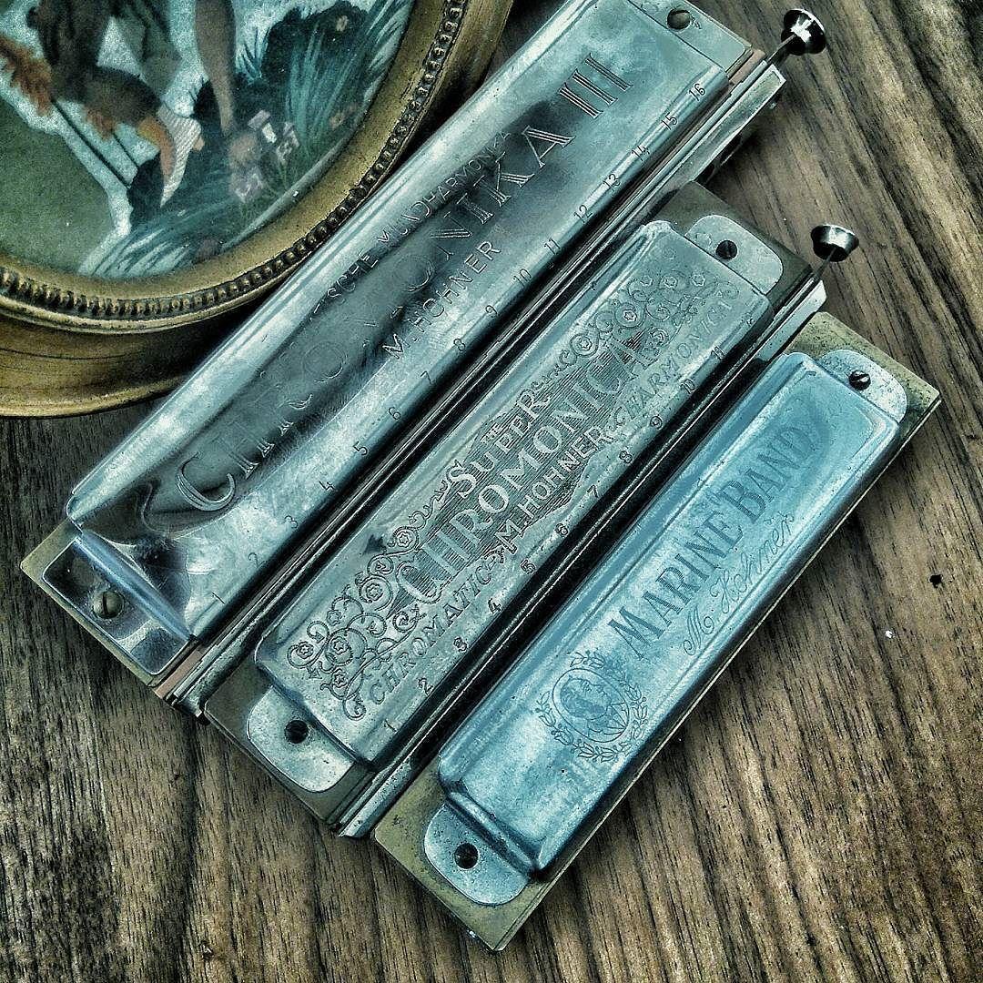 """olivier bareau on Instagram """"Vintage harps harmonica"""